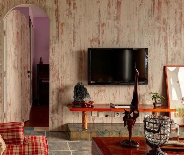好看电视背景墙效果图  超赞的客厅电视背景设计
