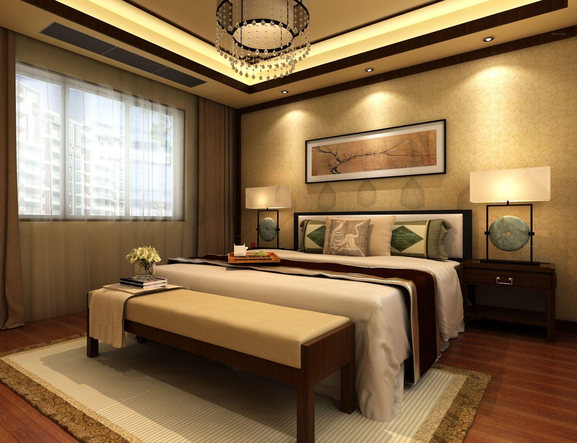 中式卧室的装修设计