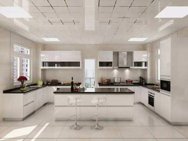 开放式厨房装修效果图 缔造绝美开放式厨房设计