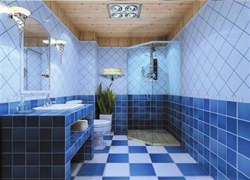 卫生间瓷砖装修效果图 打造美美的卫浴空间