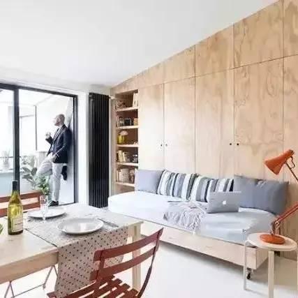 面积仅28平的超小型公寓,装修后效果竟震惊四邻
