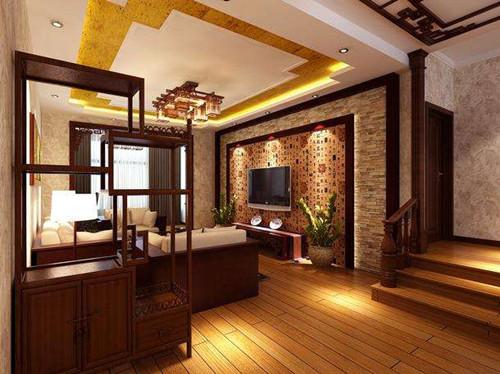 新中式风格装修客厅效果图 创造充满古典韵味的新中式图片