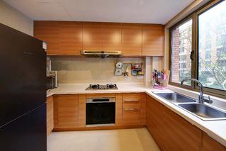 8万搞定120平两居室装修厨房效果图