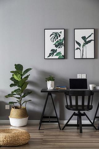 魅力飘窗两居室装饰画图片
