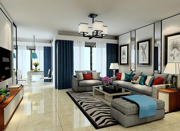 这样的沙发墙装修你会打几分?