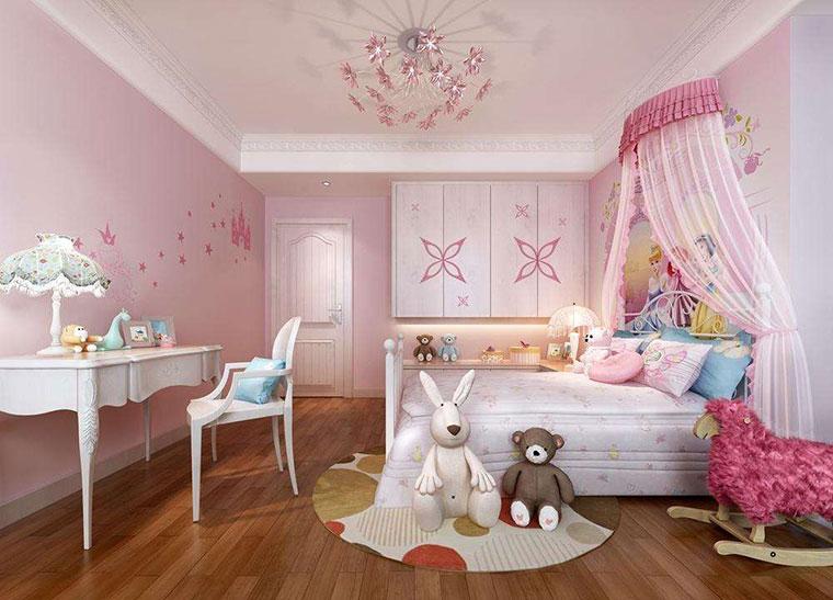 温馨公主房装修设计