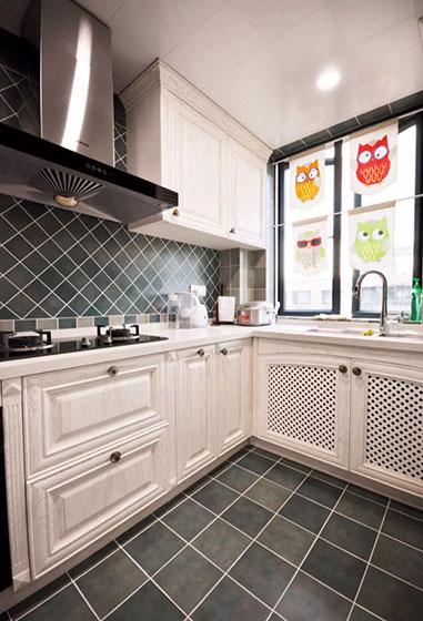 大气欧式厨房装潢图