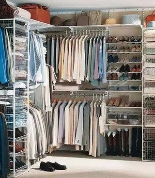 简易大容量衣柜橱柜图片