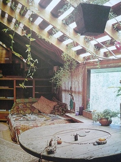 阁楼碰头卧室装饰效果图