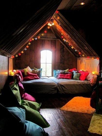 阁楼卧室装修设计图片