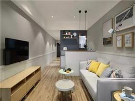 40平小户型装修样板房  清新雅致40平小户型装修案例