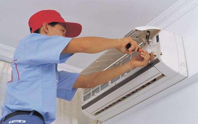 空调内部结构—室外机顶部线路