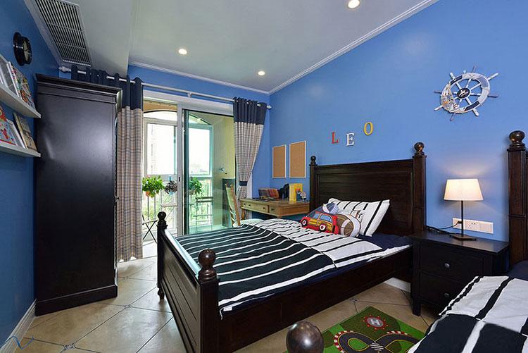 95平米简约风格卧室装修图