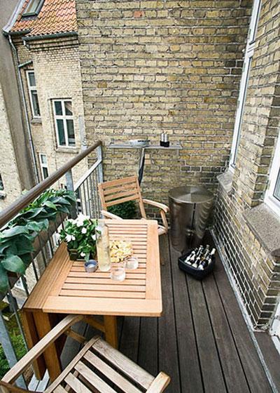 小户型阳台装潢图
