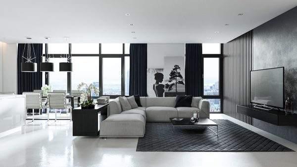 4.除了配色的多少可以产生不同的视觉效果外,我们还可以在简约的黑白风格中加入铁艺、木质这样的元素,使整体上显得更加精致文艺。  5.餐厅设计成黑白风也别有一番感觉,虽然冷色调让人感觉简单正式,但这样的设计绝对不容易过时!  6.卧室装修成黑白风,不仅高档有质感,更让人在这样的环境里感到沉静自如。  看了这些黑白风格的装修,有没有被这样的质感吸引住呢! 亲,以上内容是否没有解决您的疑问,齐家装修专家团为您提供一对一的咨询服务(装修预算报价审核,户型改造建议,疑难杂症方案,材料购买详解,装修猫腻提醒),请添