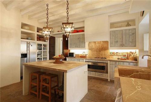 咸阳家居精装设计告诉你开放式厨房装修风格设计要点
