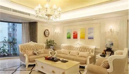 简欧客厅装修效果图 缔造艺术与品位并存的生活空间
