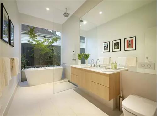 浴室装修效果图 5㎡卫浴这样装既美观又实用