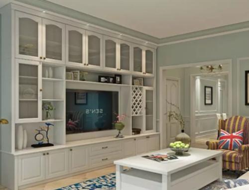 客廳柜子裝修效果圖 這樣的設計百看不膩圖片