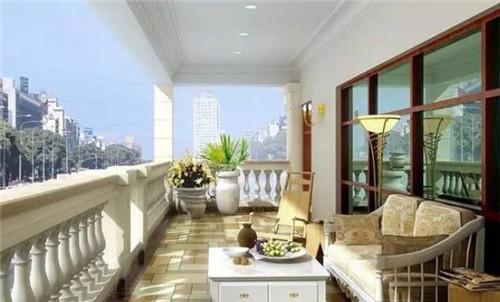 生活阳台装修效果图 创意阳台设计让您生活更诗意