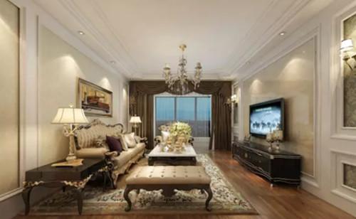 房屋装修图片大全 浪漫舒适的客厅你满意吗