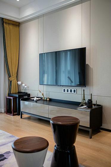 简约风格装修设计电视柜图片
