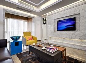 120平现代新中式混搭公寓装修 谁见谁喜欢
