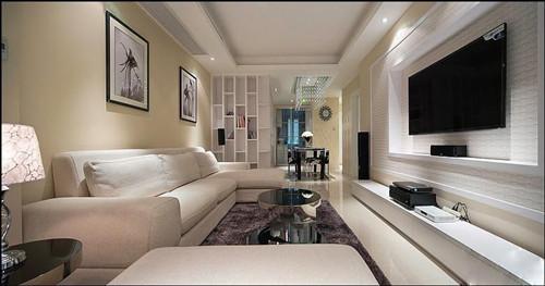 三室一厅装修效果图 10万打造温馨小居室