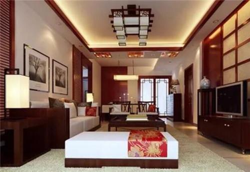 中式客厅装修效果图 现代时尚和中式古典的完美融合