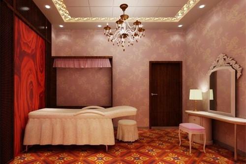 资讯 案例 按空间查看 正文  对于美容店的spa房装饰设计要更显平易近图片