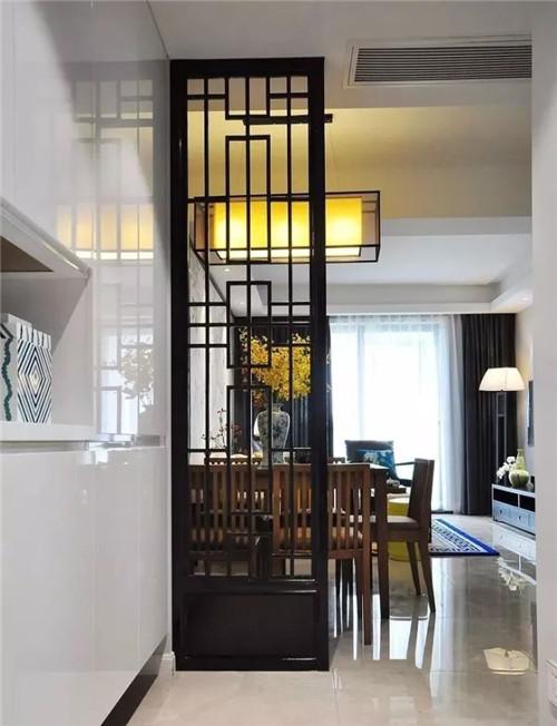 现代中式装修样板间 新中式家居装修呈现耳目一新的视