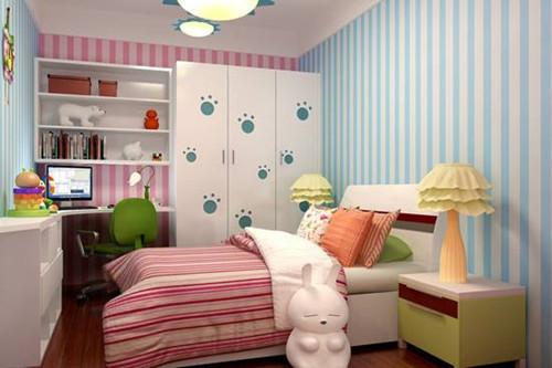 儿童卧室装修效果图 父母给孩子的成长乐园