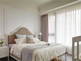 卧室窗帘效果图   卧室挂什么颜色的窗帘好