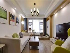 90平米装修案例效果图  8万打造90平清雅生活空间