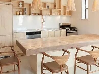 小厨大颜值 15个小户型开放式厨房装修效果图集锦图片