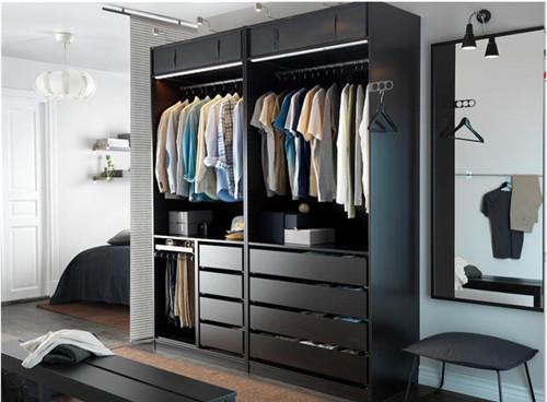 衣柜格局设计图 家装设计创意格局新点子