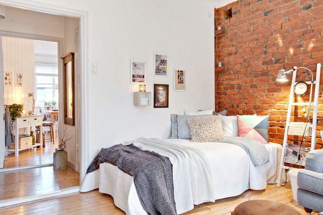 客厅 卧室 厨房 厨房的形状是一个不规则形状,然而设计者很好地利用图片