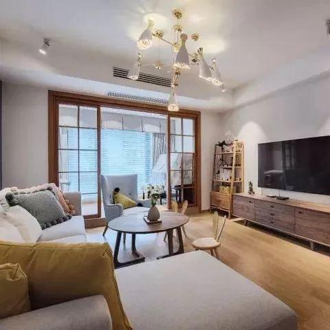 134㎡北欧复式,一楼生活区,二楼休息区,规划相当棒!