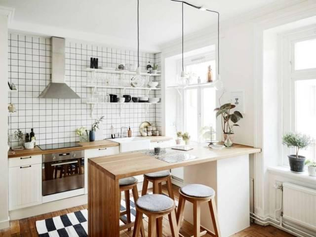 开放式厨房装修