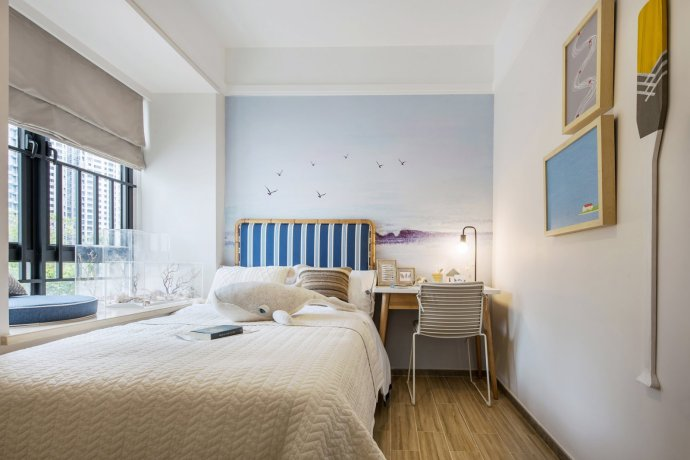 背景墙 房间 家居 起居室 设计 卧室 卧室装修 现代 装修 690_460