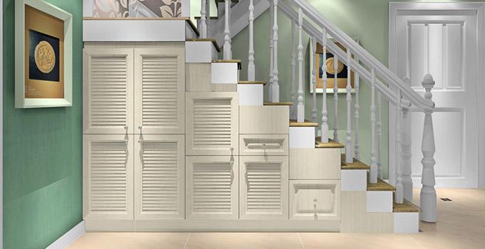 楼梯鞋柜设计效果图