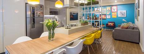 10个餐厅餐桌诠释欢乐美食空间