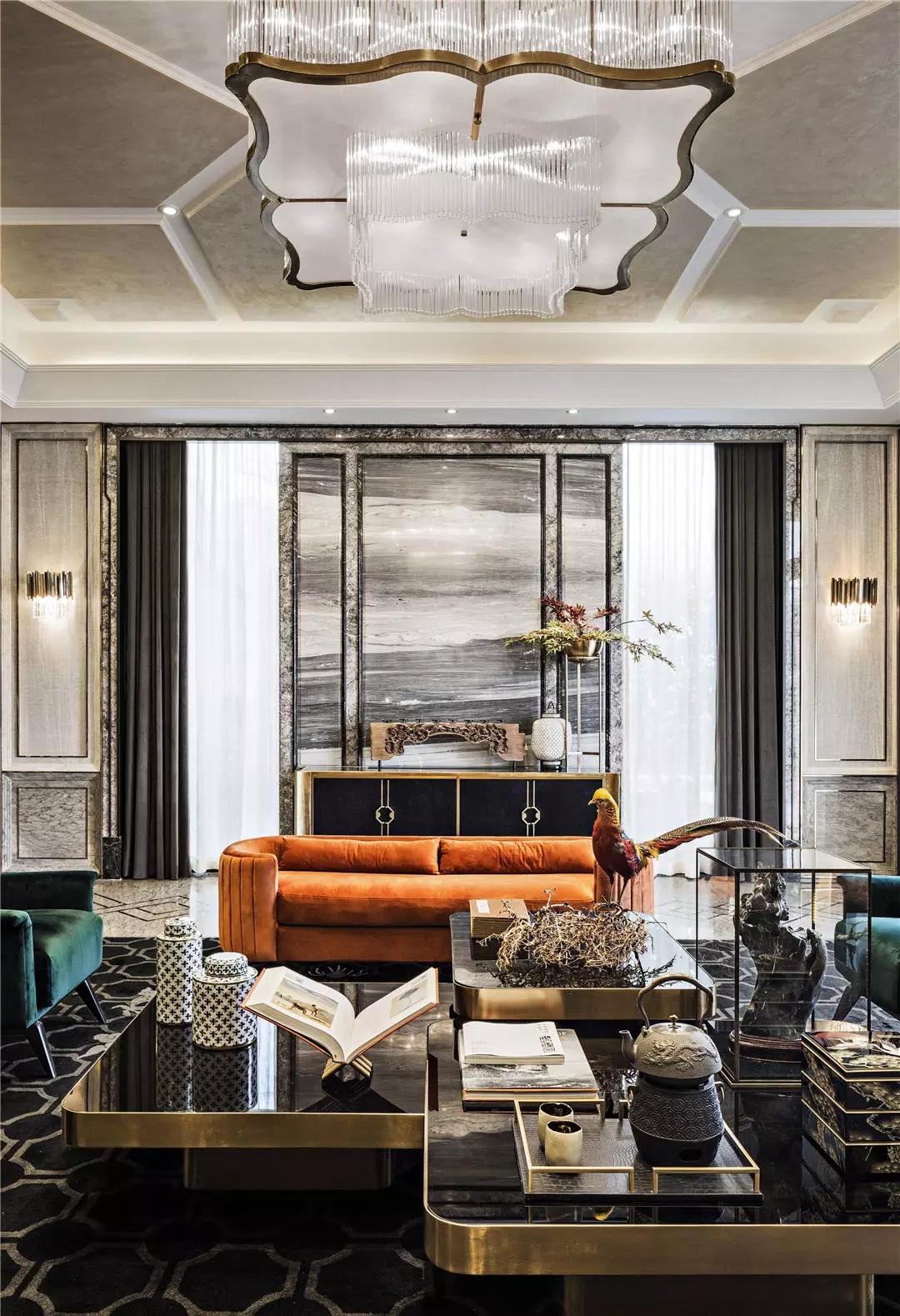 60个新中式豪宅客厅设计