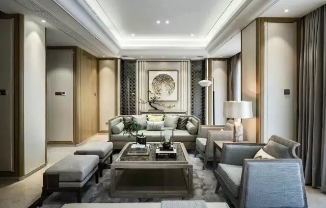 60个新中式豪宅客厅设计图片