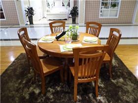 实木餐桌哪个品牌好  实木餐桌一桌6椅价位如何