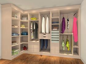 小衣柜收纳窍门 小衣柜设计细节图片