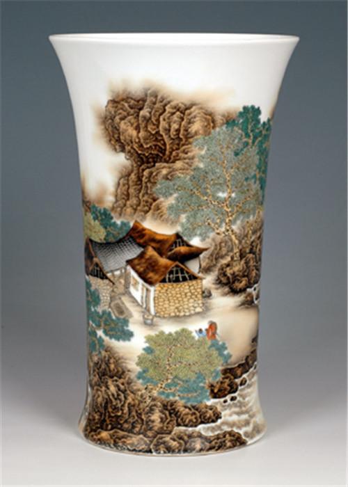 陶瓷艺术品效果图 家居空间创意艺术摆件图片