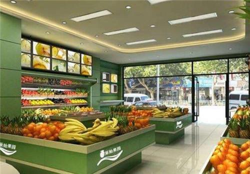 水果店装修设计生意有哪些水果店装修要点好墙纸风海军图片