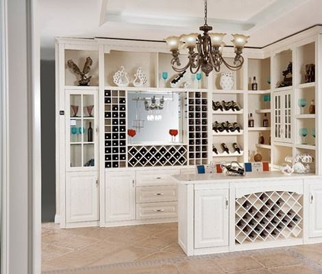 欧式酒柜设计风格 欧式酒柜彰显出品质生活