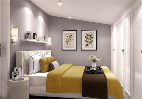 60平复式楼装修样板间 充满质感的60平简欧小复式图片